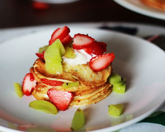 Low Fat Honey Crepes